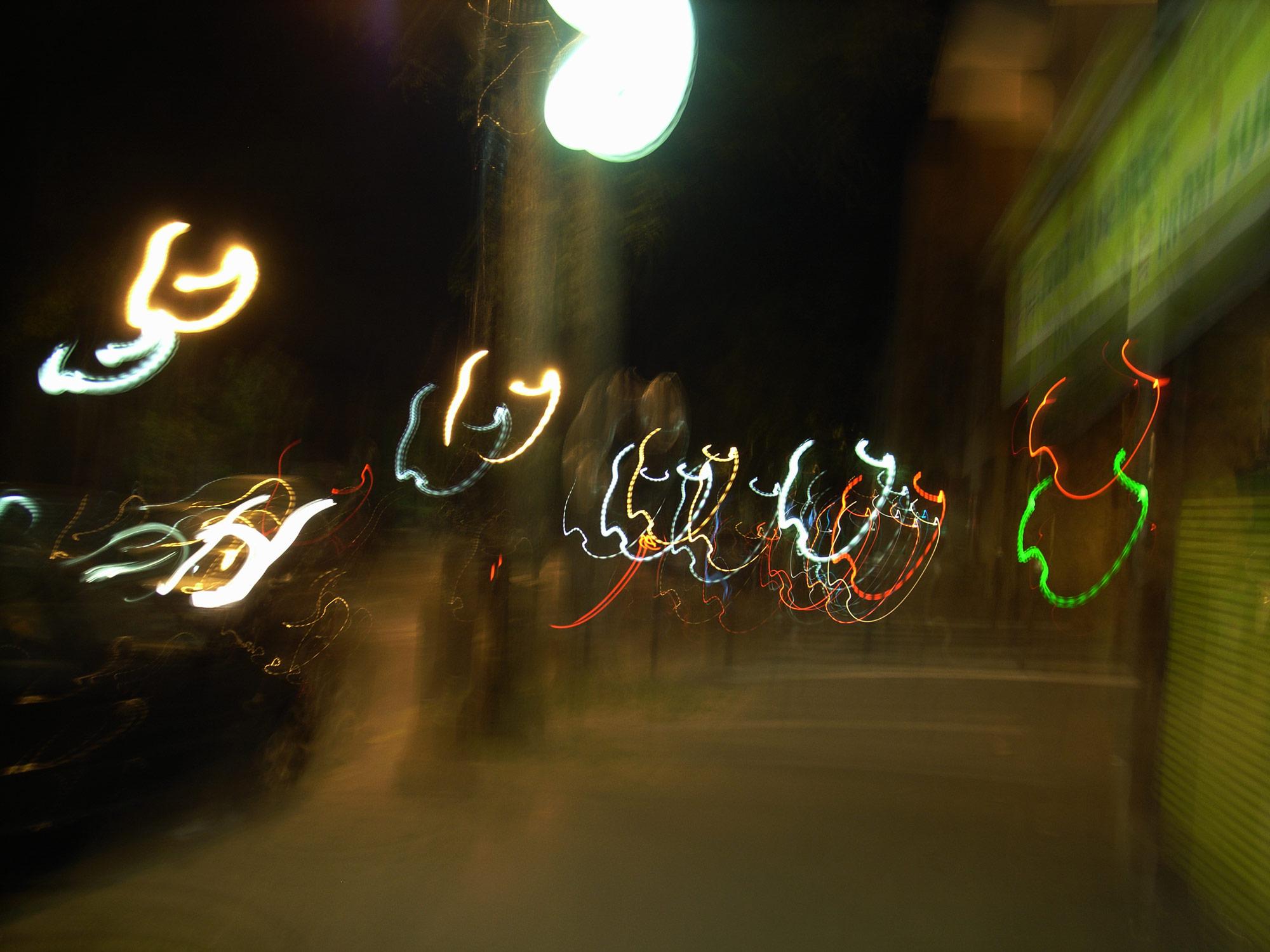 Light painting 07